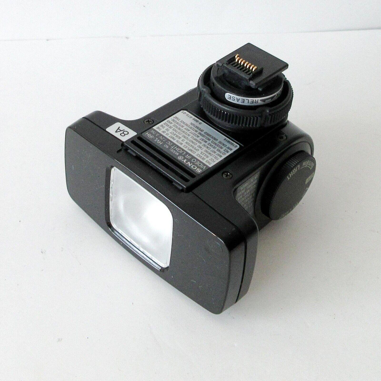 SONY HVL-IRH Video IR Light NightShot Infrared Light Handycam Flash Module #058