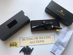 Genuine Cross Foutain Gift Pen Idea Wedding Present Boxed Presentation (602)