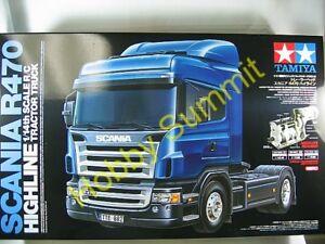 Tamiya-R-C-1-14-SCANIA-R470-HIGHLINE-Tractor-Truck-Kit-3-Speed-56318