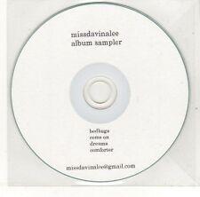 (EH599) Miss Davina Lee, album sampler - DJ CD