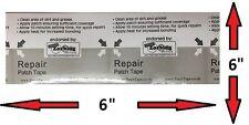 """Cinta De Parche PVC y TPU Parche de reparación de 6"""" X 6"""" - - Tear Aid Tipo B equivalente - -"""