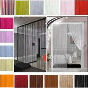 1m x2m Door Window Panel Room Divider String Curtain Cute Strip