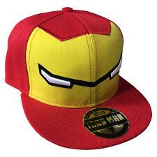 item 2 Official Iron Man Marvel Comics Adjustable Snapback Cap Hat  -Official Iron Man Marvel Comics Adjustable Snapback Cap Hat 50c109cd958c