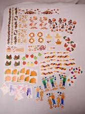 Mrs Grossman/'s VACATION Travel Sun Beach Map Trip Scrapbook Stickers 3 Sheets