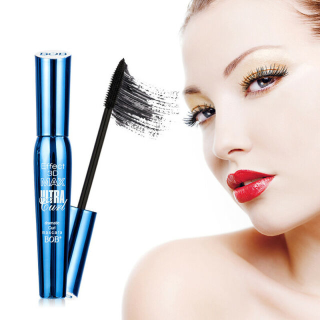 4D Silk Fiber Lash Mascara Eyelashes Waterproof Long Extension Lasting MakeUp kx