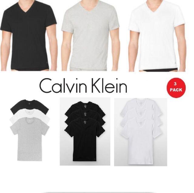 NIB Men Polo Ralph Lauren 3-Pack Classic Fit 100/% Cotton V-Neck Crew Tees M//L//XL