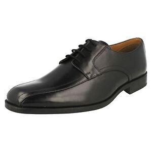 Negra Cielo Zapatos G Kett Bakra Ajuste De Cordones Clarks Piel 38b Hombre qxfwwH