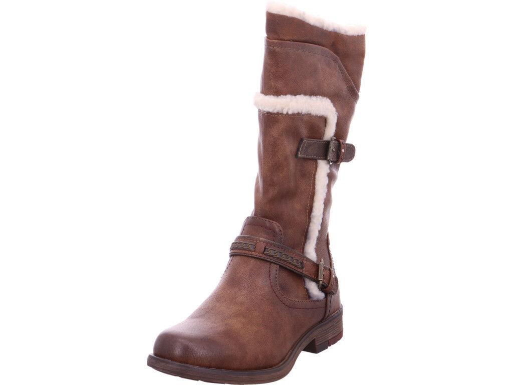 Mustang Damen  Stiefel Stiefel Stiefel braun  | Attraktives Aussehen  f33d20