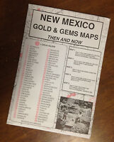 Mexico Gold & Gems Maps Then And Now Locate Minerals Fossils