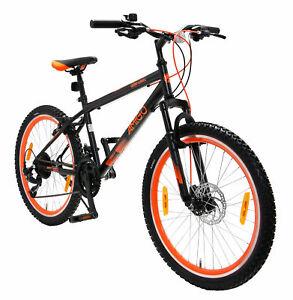 26-Zoll-Fahrrad-Jugendfahrrad-Mountainbike-MTB-Cross-Bike-21G-2-Farben-waehlbar