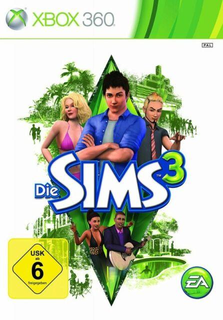 Microsoft Xbox 360 jeu - Die Sims 3 dans l'emballage utilisé