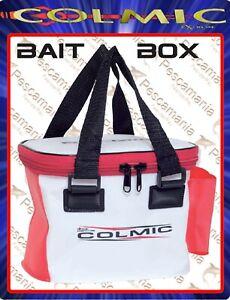Borsa-Colmic-PVC-BAIT-BOX-portaesche-cm-22x16x16-impermeabile-red-series