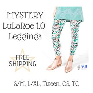3217fdce3c8b7 NEW LuLaRoe MYSTERY 1.0 Leggings S/M L/XL Tween OS One Size TC Tall ...