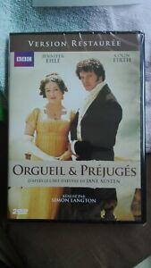 2-DVD-ORGUEIL-amp-PREJUGES-COLIN-FIRTH-NEUF-SouS-BLISTER-francais-et-Anglais