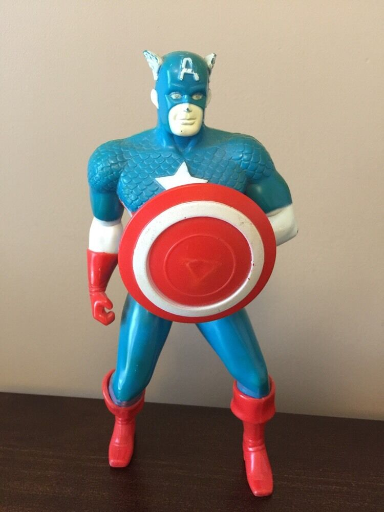 1980 Remco Captain America Energized  Still Works