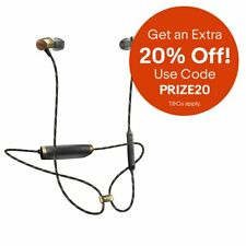 House of Marley Uplift 2 Wireless Bluetooth In Ear Earphones Brass & Black