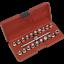 thumbnail 1 - Sealey-Oil-Drain-Plug-Key-Set-21pc-3-8-034-Sq-Drive-Garage-Workshop-DIY