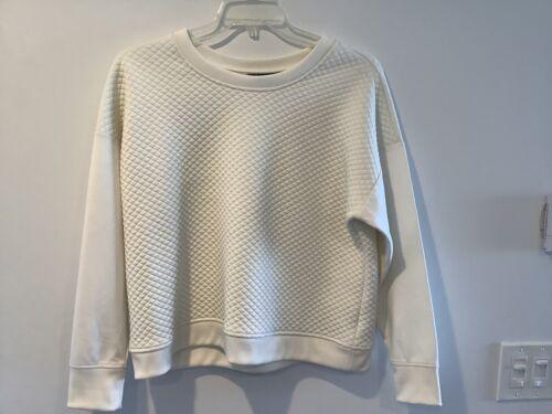 Lauren Ralph Lauren Ladies' Ivory Quilted Sweatshi