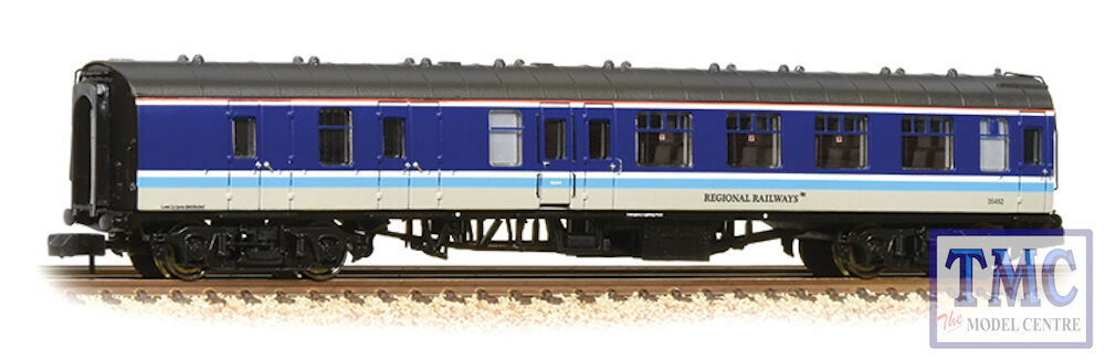 374-194 Graham Farish N Gauge BR Mk1 BSK Brake Second Corridor Regional Railways