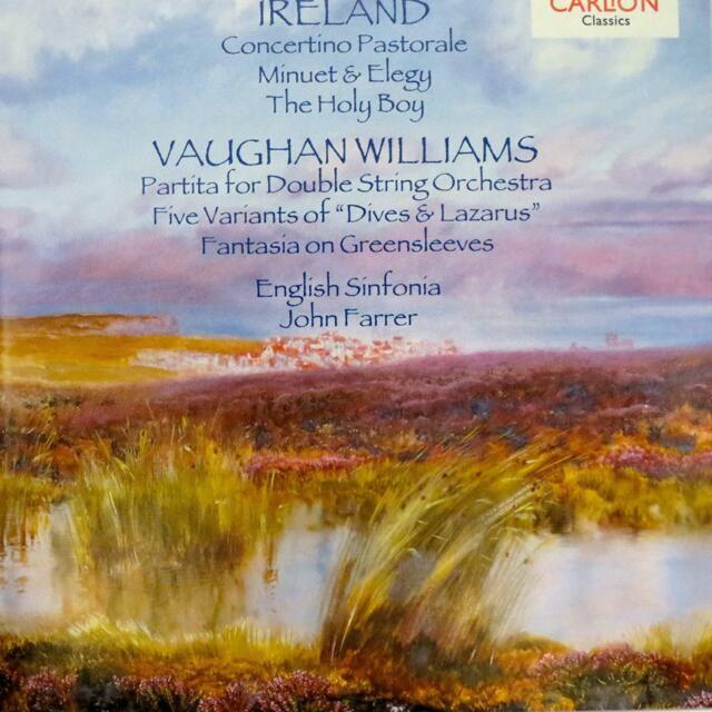 John Ireland (1879-1962) & Ralph Vaughan Williams (1872-1958) CD