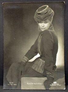 Sybille-Schmitz-Film-Foto-Autogramm-AK-j-6125