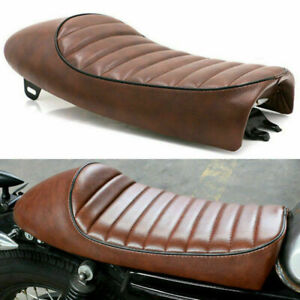 Universal Motorrad Cafe Racer Sitzbank Sitzkissen Sitz Sattel Für Honda Yamaha