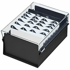 4 X 6 Card File Holder Organizer Metal Base Heavy Duty Az Index Cards And Color