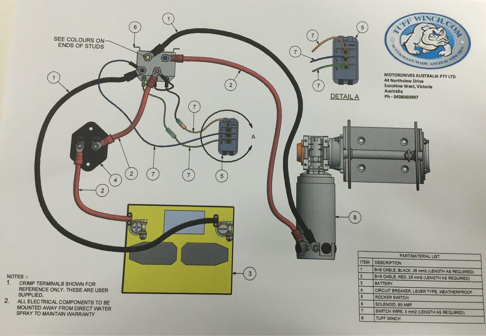 Tuff Tw180 Ebay Stuff Winch Wiring Diagram