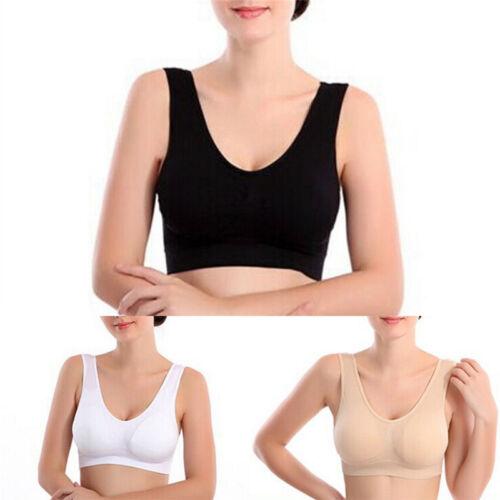 Femmes Yoga Stretch Soutien-Gorge Soutien-Gorge Sans Couture FE