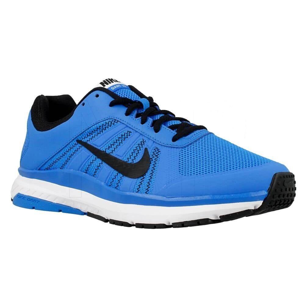 Nuovi uomini nike dardo 12 scarpe da corsa!!!in blu bianco nero!!!