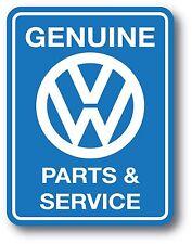 Volkswagen VW Genuine Parts & Service Beetle Bug Sticker Bus Decal Sticker