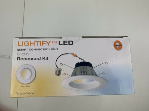 Osram Sylvania Lightify LED Smart Connected Light Tunable White 65W Recessed NEW