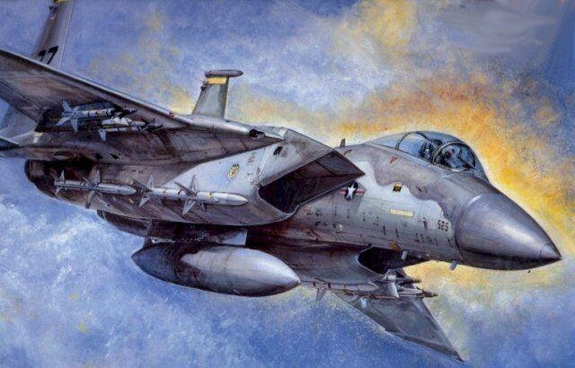ACADEMY 1 48 KIT MONTAGGIO AEREO MCDONNELL DOUGLAS F 15 C D EAGLE ART 1685