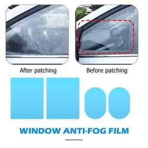 4//8pc Regenschutz Fenster Folie Anti-beschlag Wasserfest Auto Rückspiegel Schutz