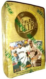 Fleer-1995-Ultra-Series-1-Major-League-Baseball-Cards-36-packs-UNOPENED