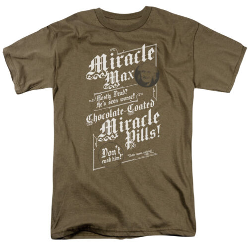 Princess Bride Movie MIRACLE MAX Licensed Adult T-Shirt All Sizes
