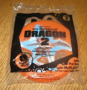 2014 How To Train Your Dragon 2 Mcdonalds Happy Meal Toy Cloudjumper Disc 2 Ebay
