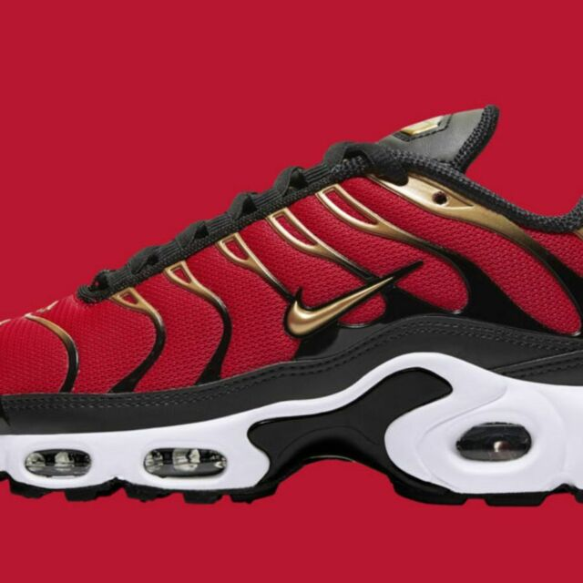Nike Womens Air Max Plus University Red