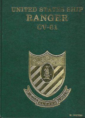 USS RANGER CV-61 WESTPAC / INDIAN OCEAN DEPLOYMENT CRUISE BOOK YEAR LOG 1989