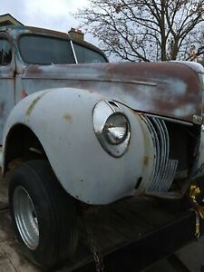 All Steel 1940 Ford Tudor   REDUCED to $5500!