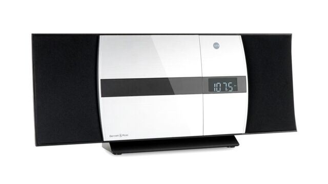 Design Vertikal HiFi Stereo Anlage Radio CD USB MP3 Bluetooth UKW Wandmontage