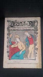 Rivista Jeans Che Rit N° 346 1907 Giornale Illustre che Appaiono Il Venerdì ABE