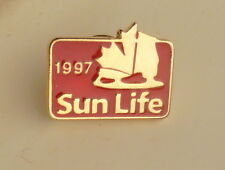 Sun Life Insurance 1997 Lapel Hat Souvenir Pin