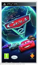jeu CARS 2 sur playstation PSP sony francais game spiel juego disney pixar NEUF