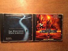 John Debney [2 CD Alben / Soundtrack] The Scorpion King + Im Zeichen der Libelle