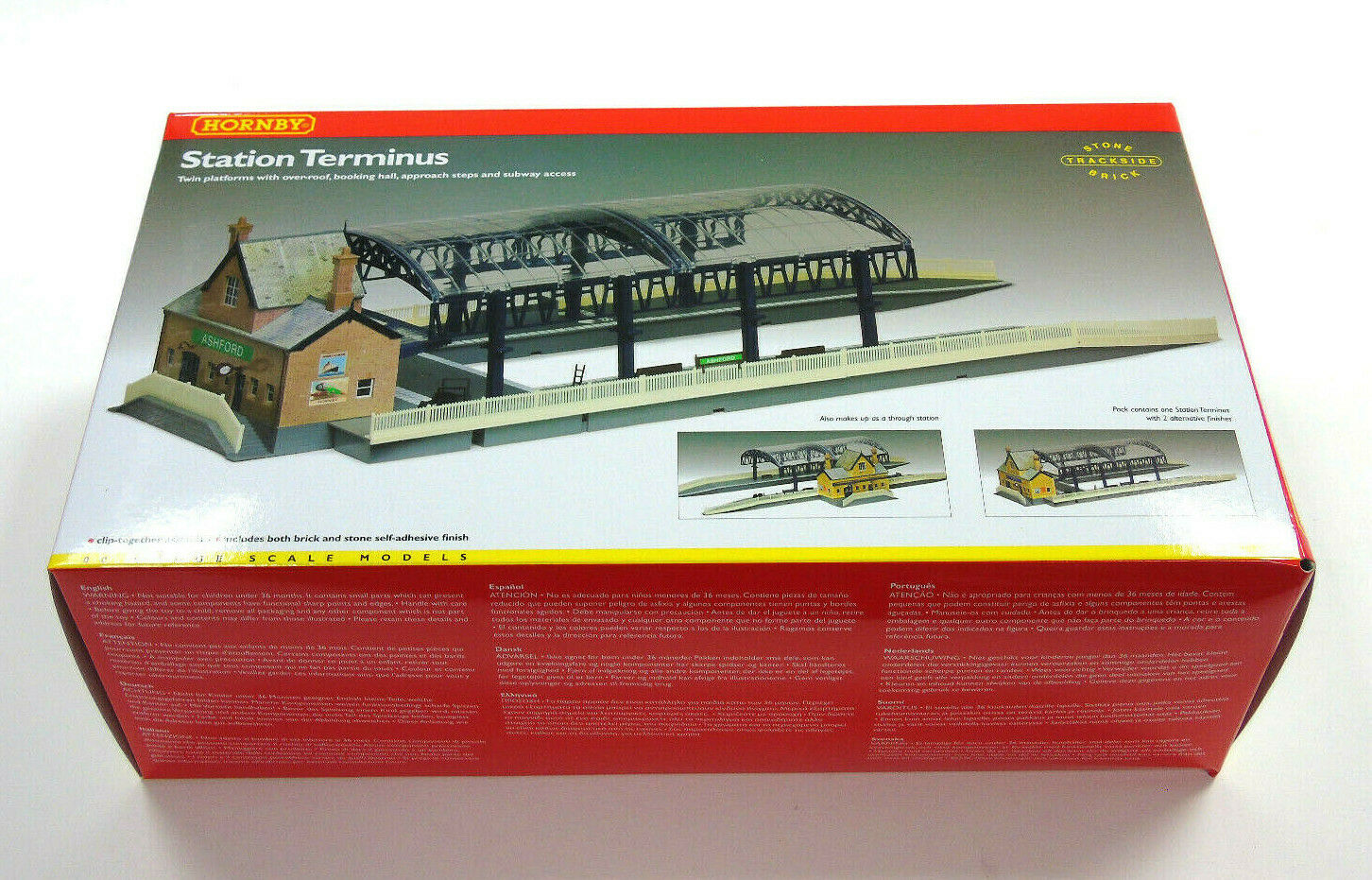 R8009 00 model railway hornby terminus station building kit new and in