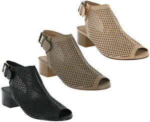 Mujer Con Savannah Sandalias Tira Detalles Moderno Trasera De Zapatos Corte Tacón Hebilla OZuPTXik