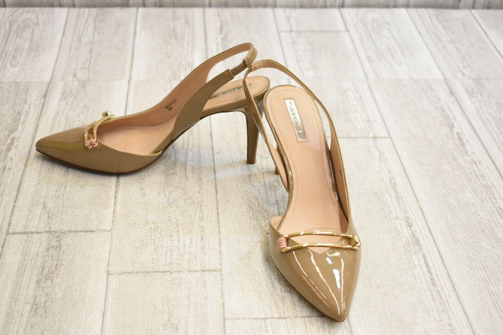 Tahari Bentley Slingback Heels - Women's Size 9 M - Taupe