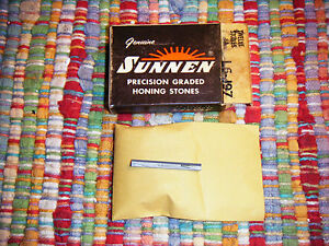 New Sunnen Stones: L12 J 9 3 Box of 6 Silicon Carbide 500 Grit
