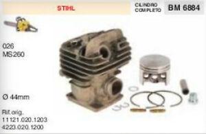 Cilindro de Stihl 026 260 motor sierra motosierra nuevo 44mm